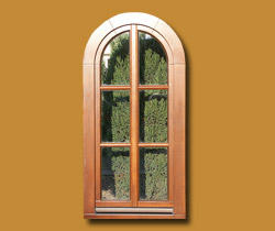 Window with construction sash bars O10 - 08